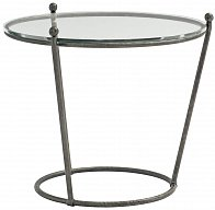 Cortland Round Metal End Table