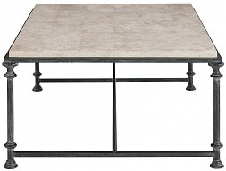 Galesbury Rectangular Metal Cocktail Table